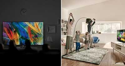 شکل-نوآوری نمایش تلویزیونهای QLED