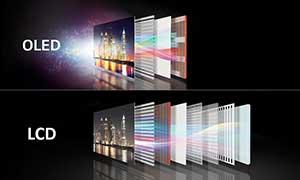 شکل- تلویزیون OLED اولد