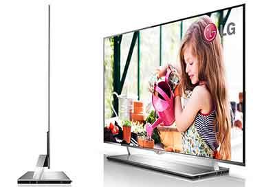 شکل-تلویزیون OLED اولد- ضخامت و وزن تلویزیون OLED اولد