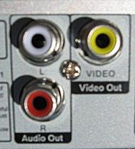 شکل-انواع ورودی تلویزیون - پورت خروجی ویدیو یا Video Out