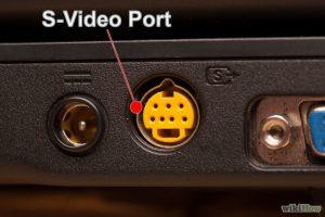 شکل- انواع ورودی تلویزیون - پورت Separated Video