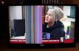 شکل- آبخوردگی صفحه تلویزیون