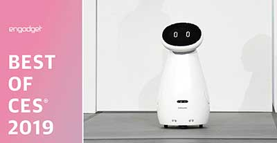 بهترین محصولات CES 2019 - بهترین روبات یا درون Samsung Bot Care