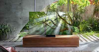 شکل- تلویزیون های 8K QLED جدید سامسونگ