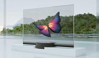 شکل – تلویزیون شفاف شیائومی
