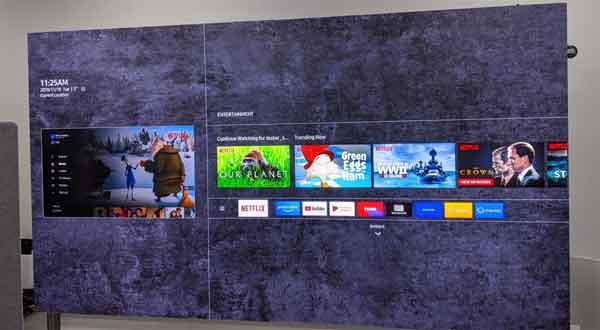 شکل- مزایای تلویزیون The Wall